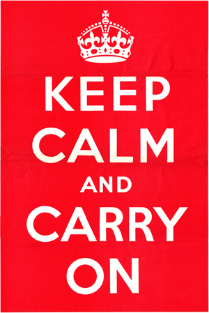 Keep calm original image